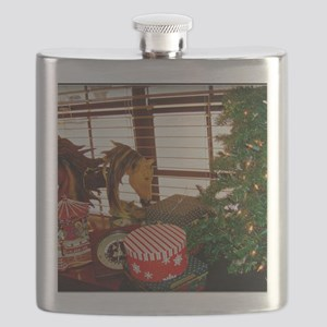 Home for the Holidays Flask