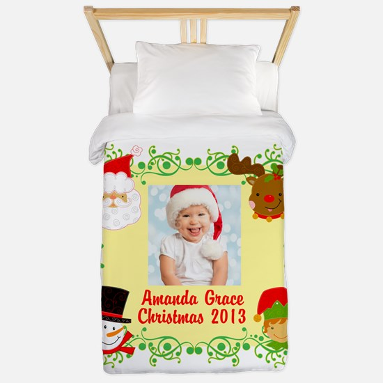 Customize Baby's Christmas Twin Duvet