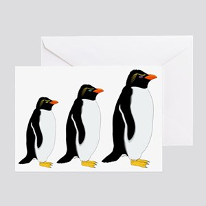 Penguin Parade Greeting Card