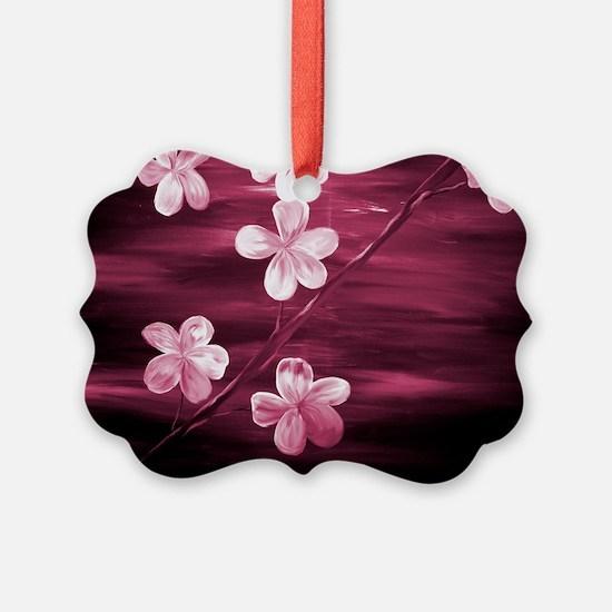 Cherry Blossom Night Shadow Ornament