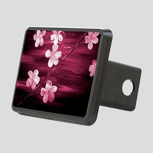 Cherry Blossom Night Shado Rectangular Hitch Cover