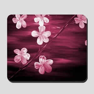Cherry Blossom Night Shadow Mousepad