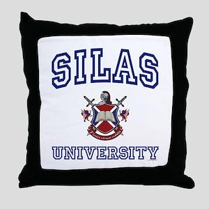SILAS University Throw Pillow