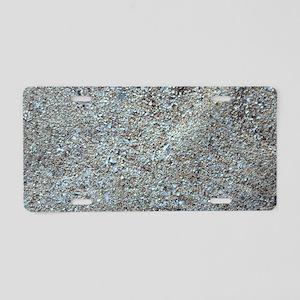 Sand Aluminum License Plate