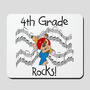 4th Grade Rocks Mousepad
