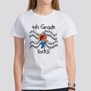 4th Grade Rocks Women's T-Shirt