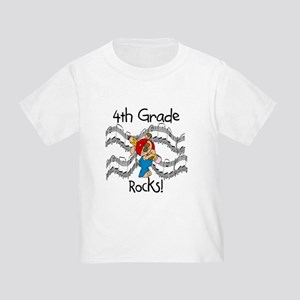 4th Grade Rocks Toddler T-Shirt