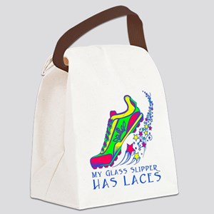 Running Shoe Canvas Lunch Bag
