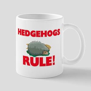 Hedgehogs Rule! Mugs