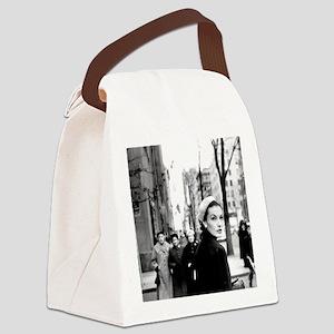 5th Avenue Stroll Canvas Lunch Bag