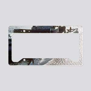 uss francis scott key large p License Plate Holder
