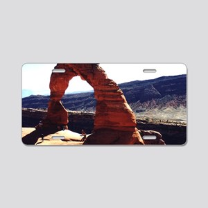 The Arch Aluminum License Plate