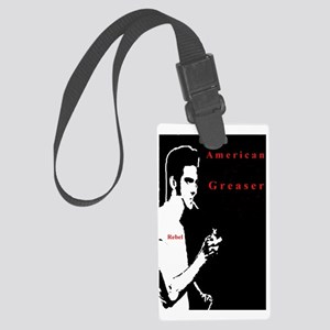 American Greaser Large Luggage Tag