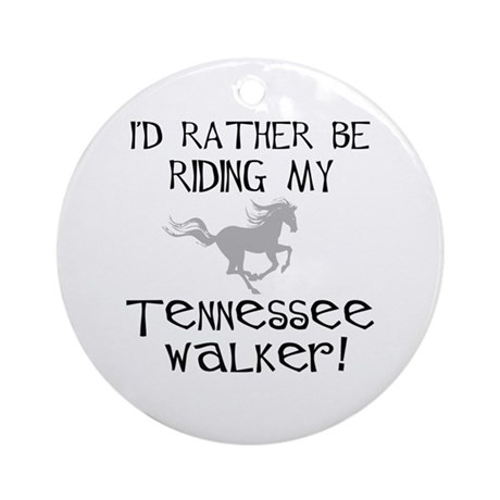 Rather-Tennessee Walker Ornament (Round)
