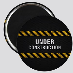 Construction Zone Magnet