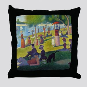 Seurat Throw Pillow