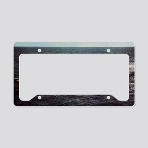 mp uss george bancroft mini p License Plate Holder