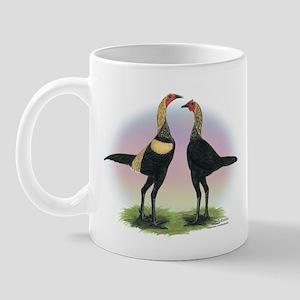 Brown Red Moderns Mug