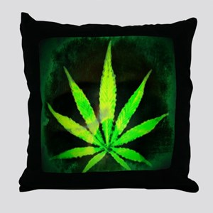 DrkGrungemid Throw Pillow
