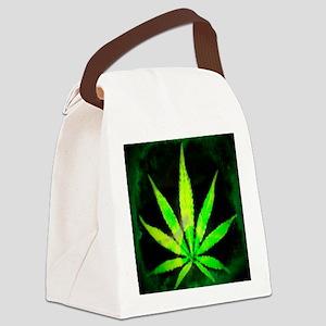 DrkGrungemid Canvas Lunch Bag