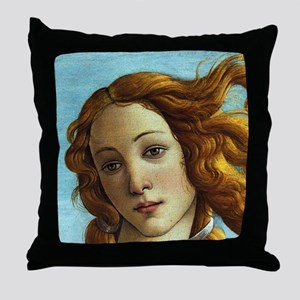 Sandro Botticelli Throw Pillow