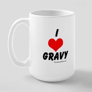 I love gravy Large Mug