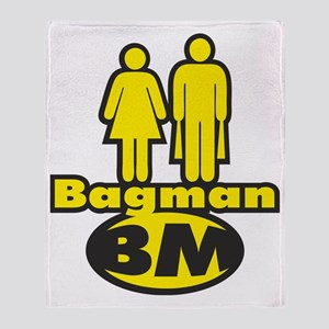 Bagman Throw Blanket