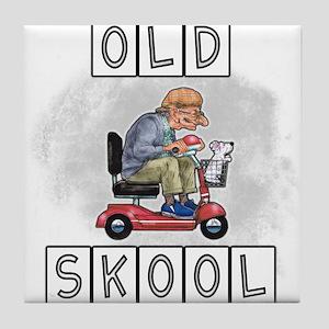 Old Skool Tile Coaster