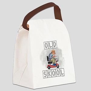 Old Skool Canvas Lunch Bag