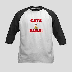 Cats Rule! Baseball Jersey