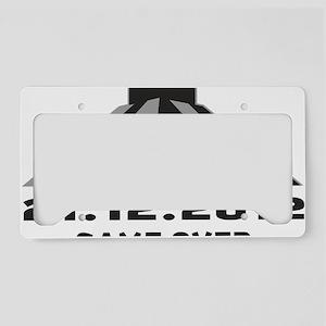 2012 mayan License Plate Holder