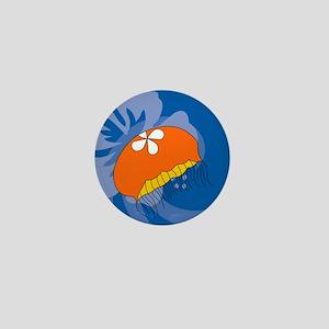 Jellyfish Round Pet Tag Mini Button