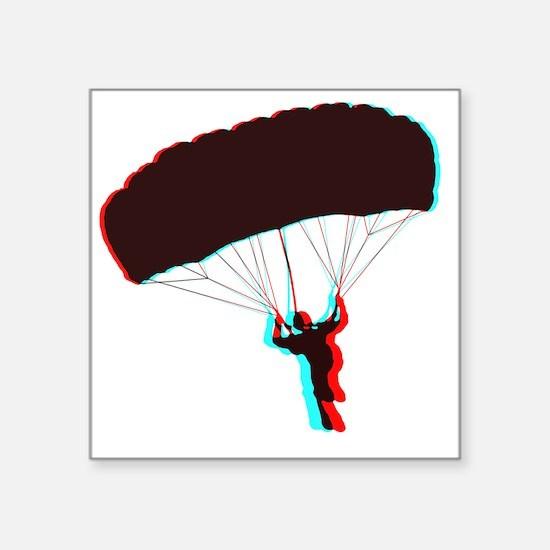 "3D Canopy 1 Square Sticker 3"" x 3"""