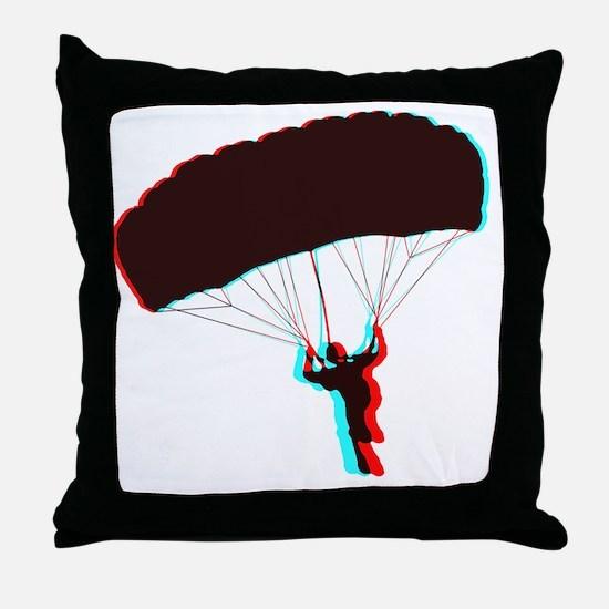 3D Canopy 1 Throw Pillow