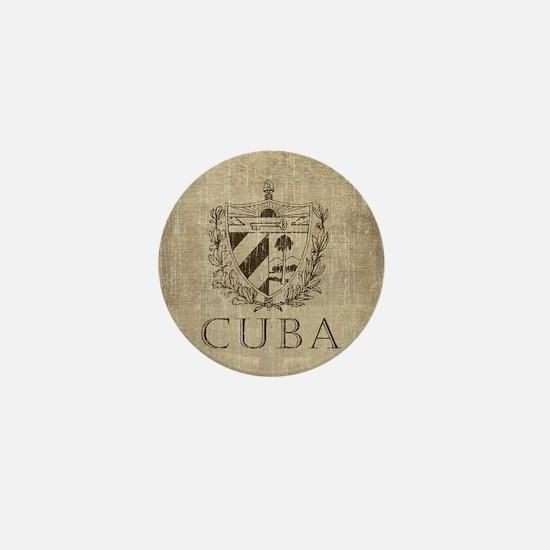 Vintage Cuba Mini Button