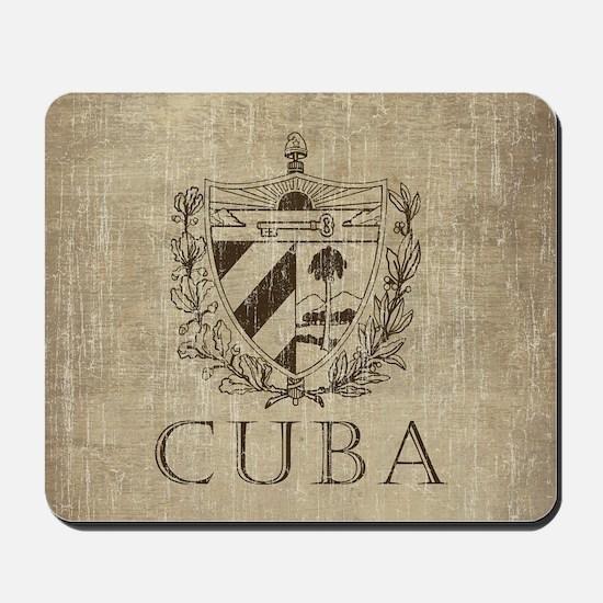 Vintage Cuba Mousepad