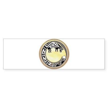 MIMBRES NATIVE BEAR BOWL Bumper Sticker