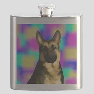 German Shepherd Dog Flask