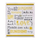You are my sunshine Fleece Blankets