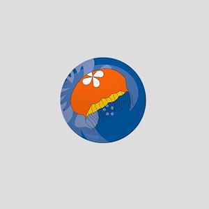 Jellyfish Round Coaster Mini Button
