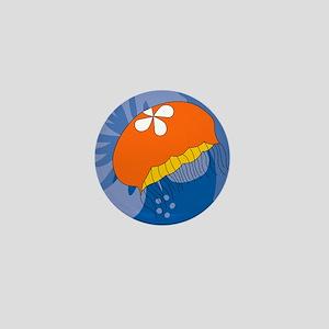 Jellyfish Mens Wallet Mini Button