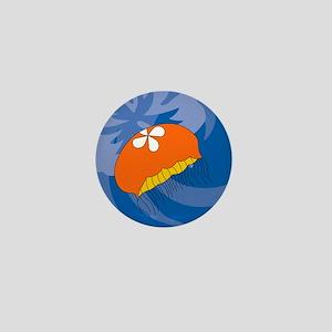 Jellyfish Round Ornament Mini Button