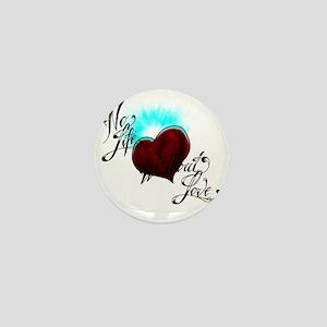 No Life Mini Button