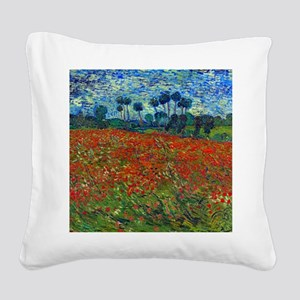 Van Gogh Square Canvas Pillow