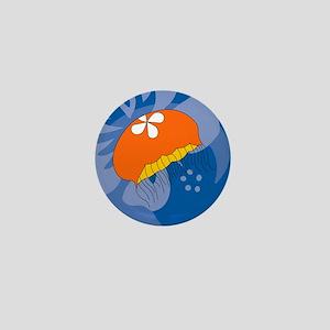 Jellyfish Puzzle Mini Button