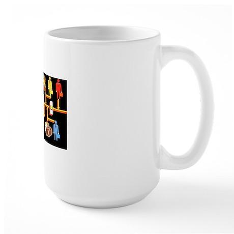 Networking Chart Large Mug