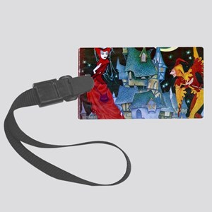 Evil Queen Large Luggage Tag