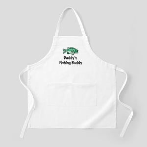 Daddy's Fishing Buddy BBQ Apron