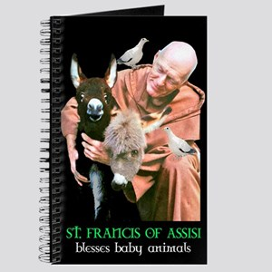 ST. FRANCIS OF ASSISI BLESSES Journal