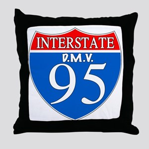 DMV Throw Pillow